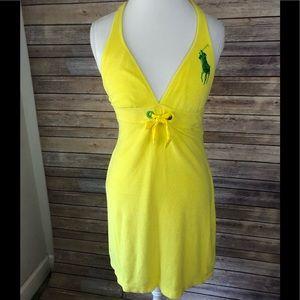 Ralph Lauren Polo Terry Cloth Dress